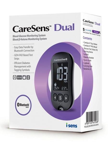 Глюкометр CareSens Dual является полным аналогом глюкометра Optium Xceed от американской компании Abbott.