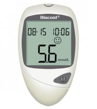 Глюкометр Диаконт обычный в ПОДАРОК при покупке 3-х упаковок тест-полосок Диаконт №50!