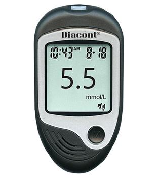 Глюкометр Диаконт говорящий в ПОДАРОК при покупке 3-х упаковок тест-полосок Диаконт №50!