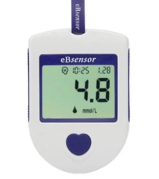 Глюкометр eBsensor в ПОДАРОК при покупке 1-ой упаковки тест-полосок eBsensor №50!