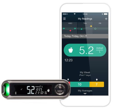 Передача данных при помощи Bluetooth и приложение Контур Диабитис (Contour Diabetes)