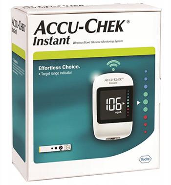 Глюкометр Акку-Чек Инстант (Accu-Chek Instant) купить в Медмаге, быстрая доставка