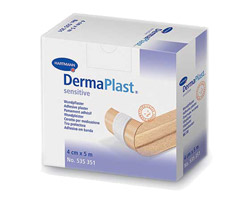Пластырь на рану DermaPlast sensitive